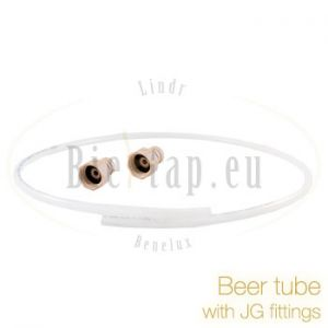Beer tube 9,5 mm with 2 John Guest fittings 5/8