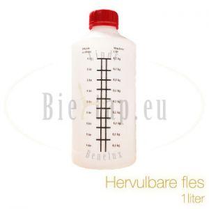 Hervulbare fles
