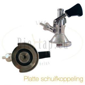 Lindr bierfustkoppeling Platte Schuif / A-type
