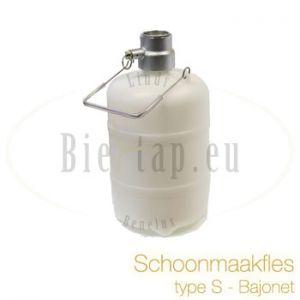 Schoonmaakfles S-type koppeling