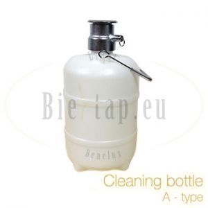 Cleaning bottle A-type for beercooler