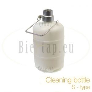 Cleaning bottle S-type for beerdispenser