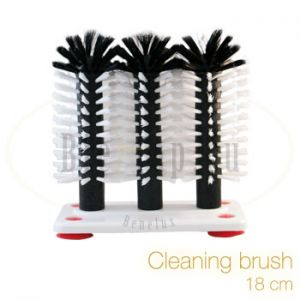 Cleaning brush 18 mm for glasses