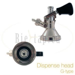 Lindr Bierfustkoppeling drievlaks / G-type