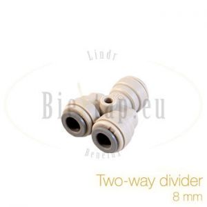 John Guest two-way divider 8 mm
