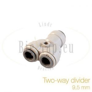 John Guest two way divider 9,5 mm