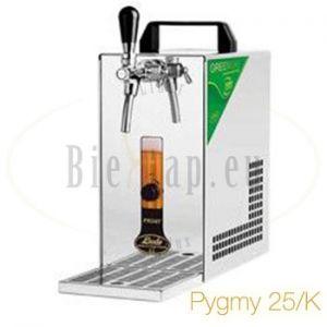 Pygmy 25/K Lindr biertap met ingebouwde luchtcompressor