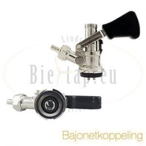 Lindr bierfustkoppeling bajonet / s-type
