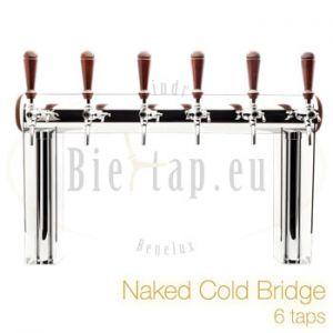 Biertap Lindr tapzuilen naked cold bridge 6 taps