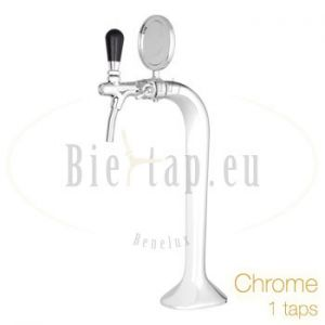 Chrome dispensetower 1 tap