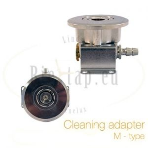 Cleaning adapter M-type