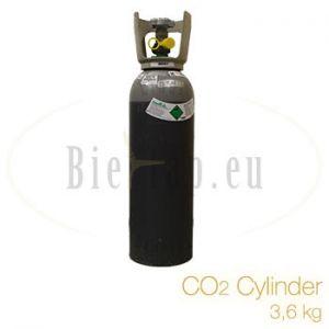 CO2 cylinder 3,6 kg pick up in Bunnik (NL) only