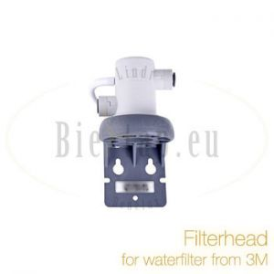 Filterhead for waterfilter from 3M