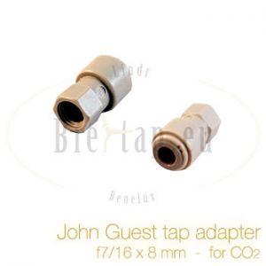 John Guest tap adapter 7/16 x 8