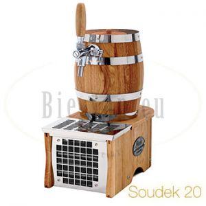 Lindr Soudek 20 luxe droogkoeler handgemaakt