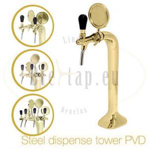 Steel dispense tower product range