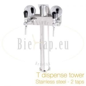 T dispense tower 2 tap Stainless steel