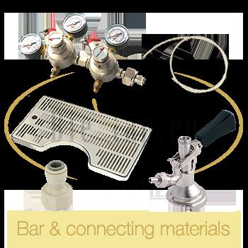 Bar & connectiong materials