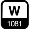 1081 W