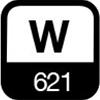 621 W
