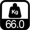 66 kg