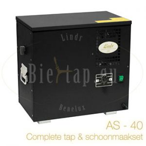 Lindr AS-40 complete biertap en schoonmaakset