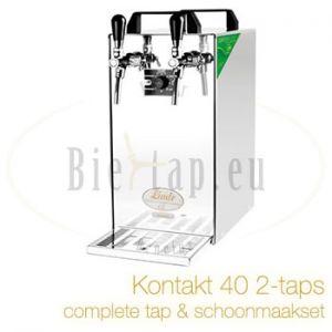 Lindr Kontakt 40 2-taps complete biertap set