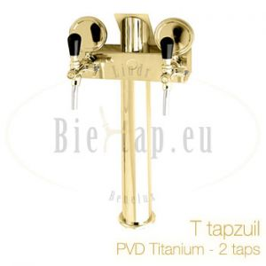 Lindr T2 tapzuil PVD Titanium