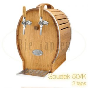 Biertap Lindr Soudek 50/k 2 taps