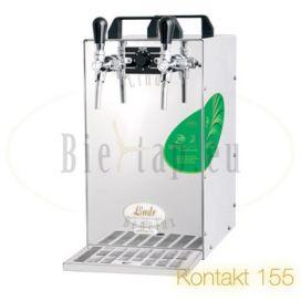 Lindr Kontakt 155 beercooler with 2 taps