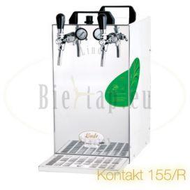 Lindr Kontakt 155R beer cooler with 2-taps