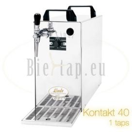 Lindr Kontakt 40 dry cooler with 1 tap