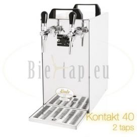 Lindr Kontakt 40 beer cooler with 2 taps