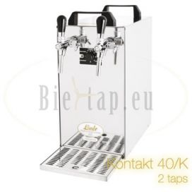 Lindr Kontakt 40/K 2-taps beer tap with compressor
