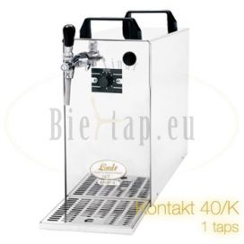 Lindr Kontakt 40/K 1-tap beer cooler inbuilt aircompressor