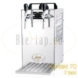 Lindr Kontakt 70 beercooler with 2 taps