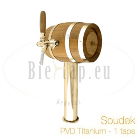 Lindr Soudek Tapzuil PVD/titanium
