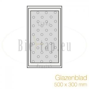 Glazenblad 500 * 300 mm