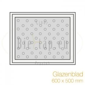 Glazenblad 600 * 500 mm
