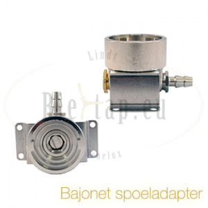 Schoonmaak adapter bajonet (S-type)