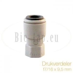 Drukregelaar van de Co2-F7/16x9.5mm