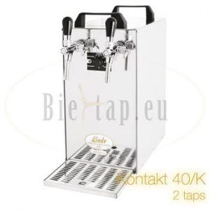 Lindr Kontakt 40/K 2-taps biertap met kompressor