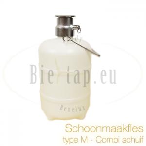 Schoonmaakfles 5L type M (combischuif)