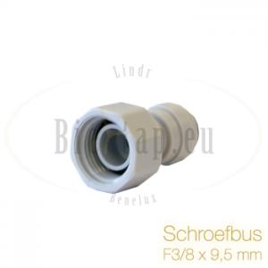 John Guest Schroefbus F3/8x9.5mm