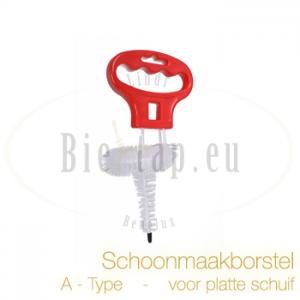 Schoonmaakborstel voor Platteschuifkoppeling (A-type)