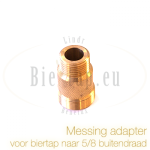 Messing adapter 5/8
